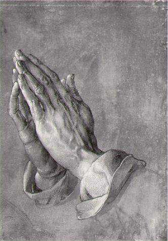 This image has an empty alt attribute; its file name is Duerer_praying_hands.jpg