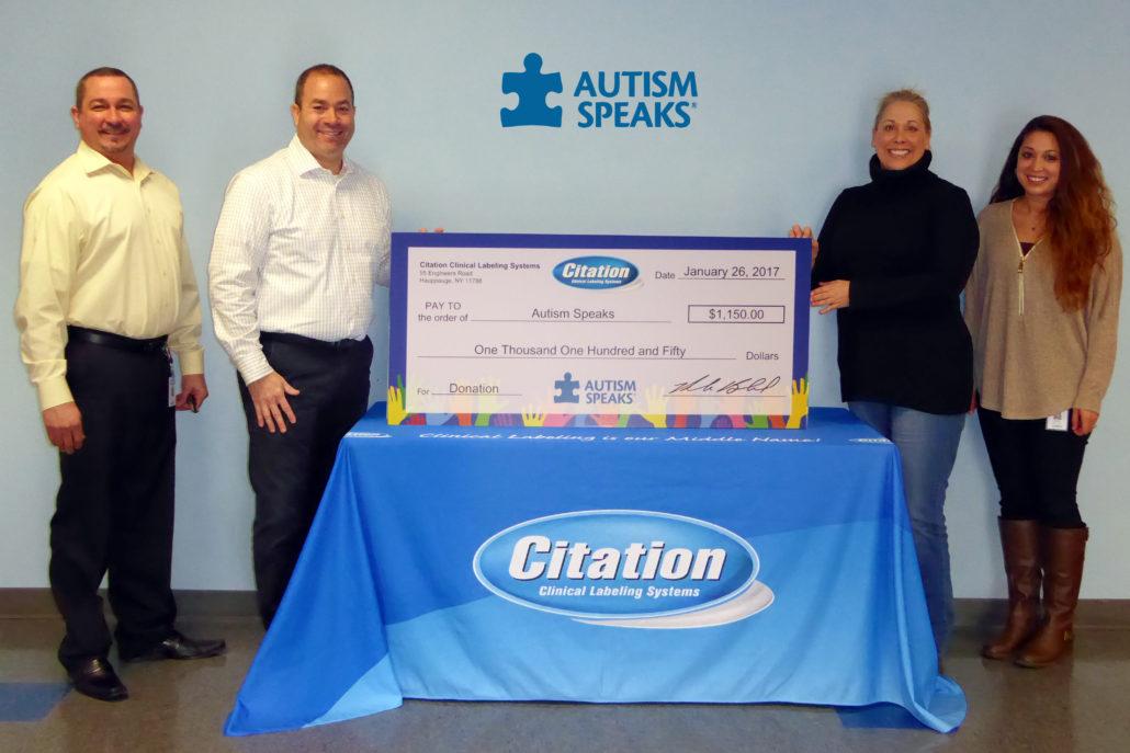 Citation and Autism Speaks Picture 2017