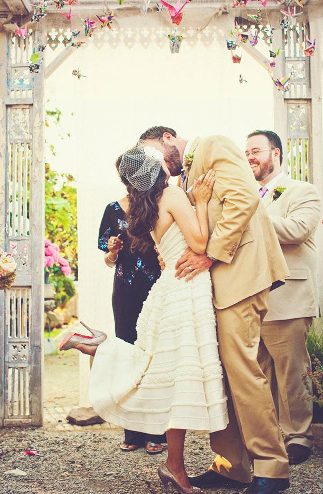 Origami Crane Themed Wedding: 2 Ways