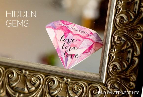 Hidden Gems - A Fun Valentine's Day Free Printable DIY