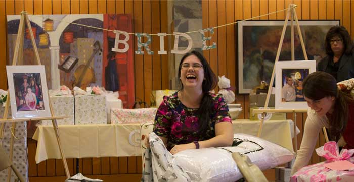 Gallery Bridal Shower by Hand-Painted Weddings