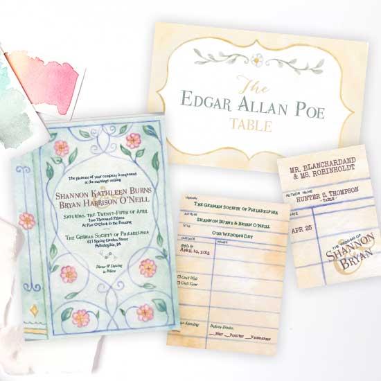 Storybook Wedding Invitation
