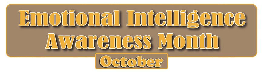 Emotional Intelligence Awareness Month October. Emotional Intelligence Institute