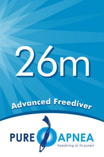 L2 Advanced Freediver