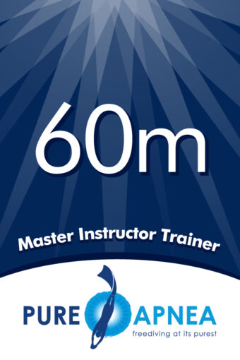 Freediving Master Instructor Trainer
