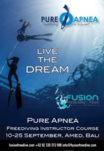 Pure Apnea IQC Bali