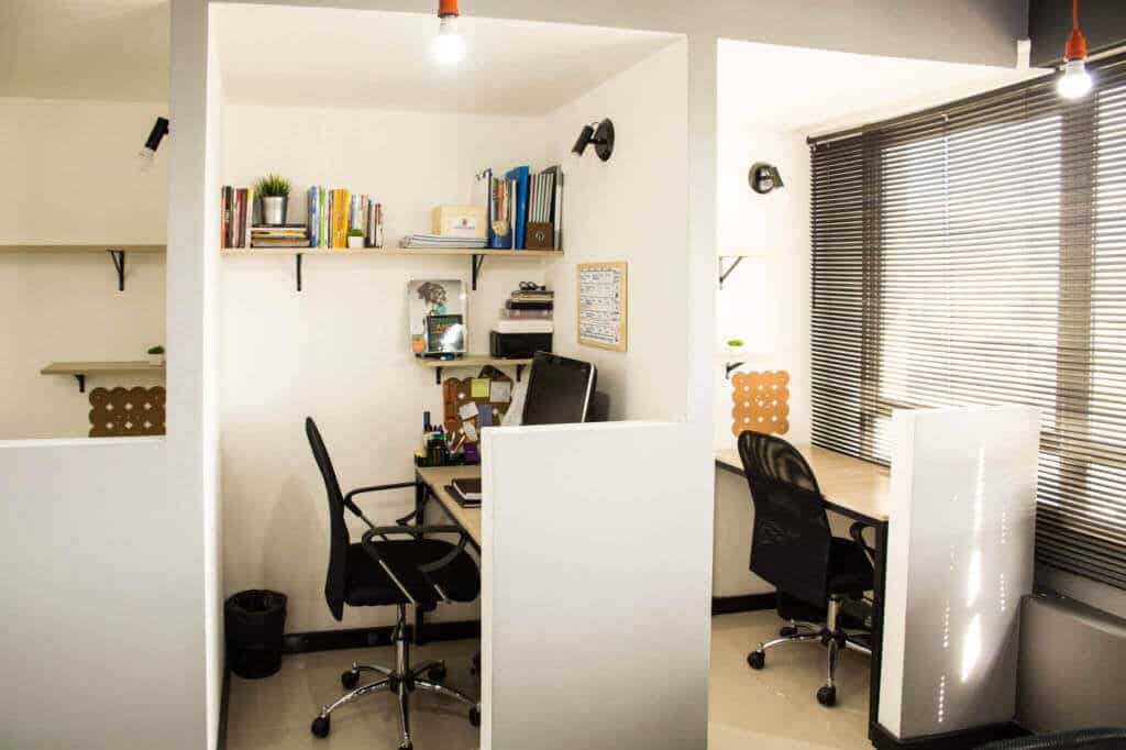 Estações de trabalho Individuais Coworking Town