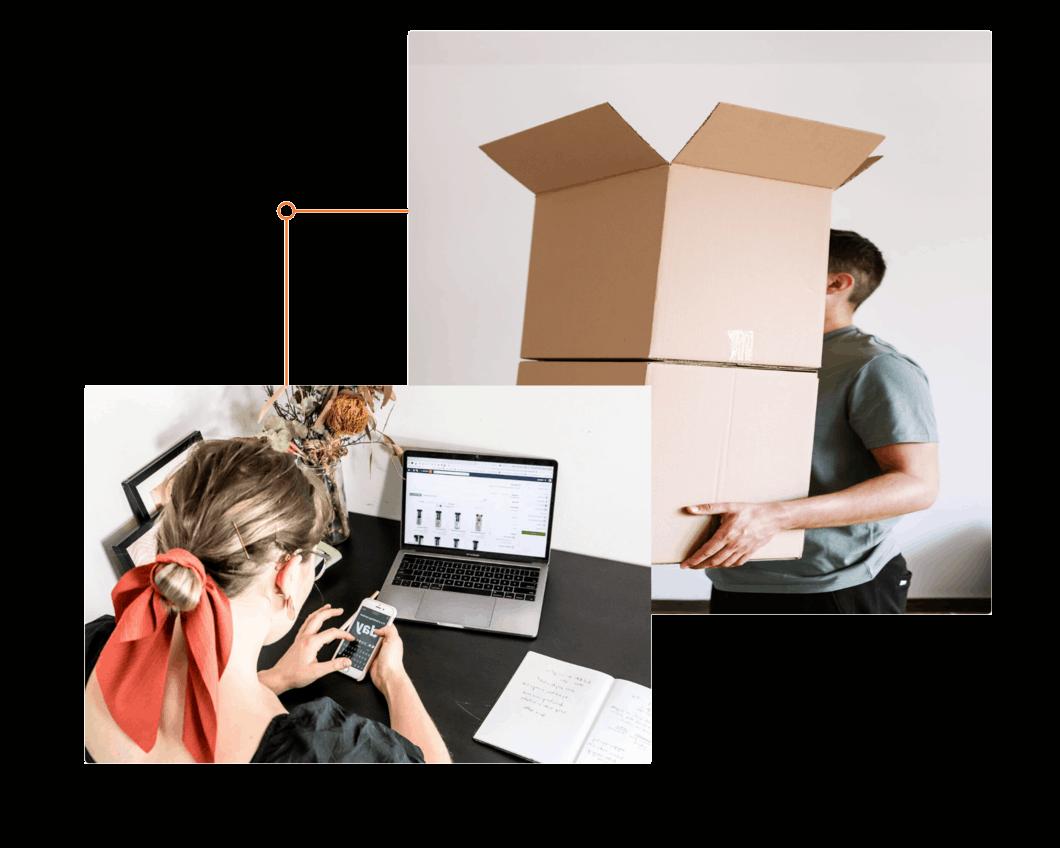 logística loja virtual