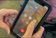 cellphone dialing 911