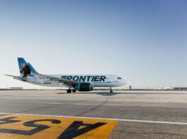 Fronteir airplane