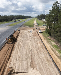 land cleared for construction