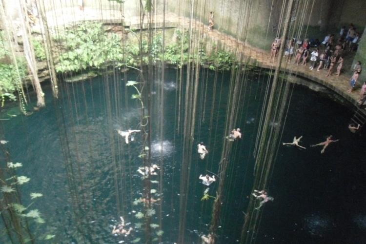 Cenote - underground river