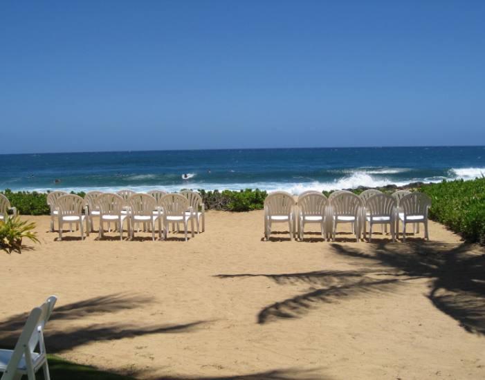 The beach at Grand Hyatt Kauai