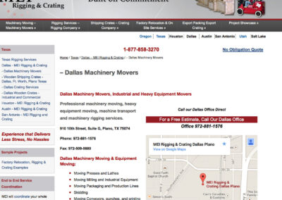 Locally Optimized Website for Multi-branch Business