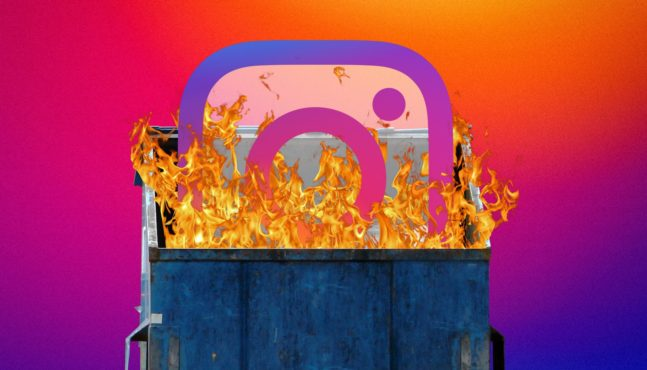 No Instagram Ban For Actual Terrorist