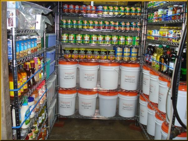 A Prepper's Perfect Pantry