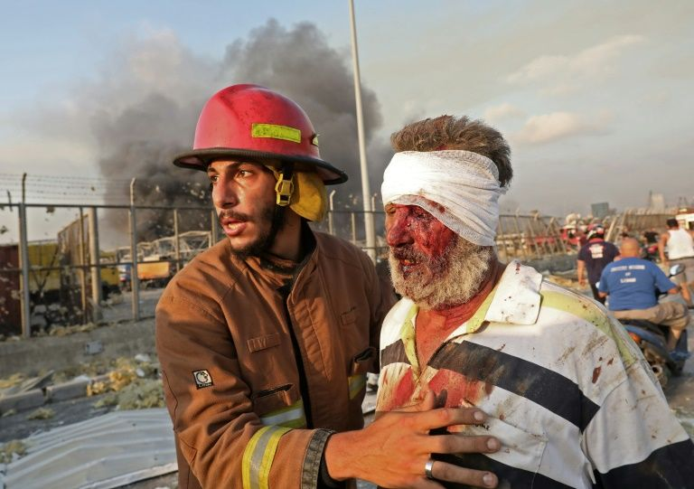 Apocalyptic Scenes As Explosions Ravage Beirut