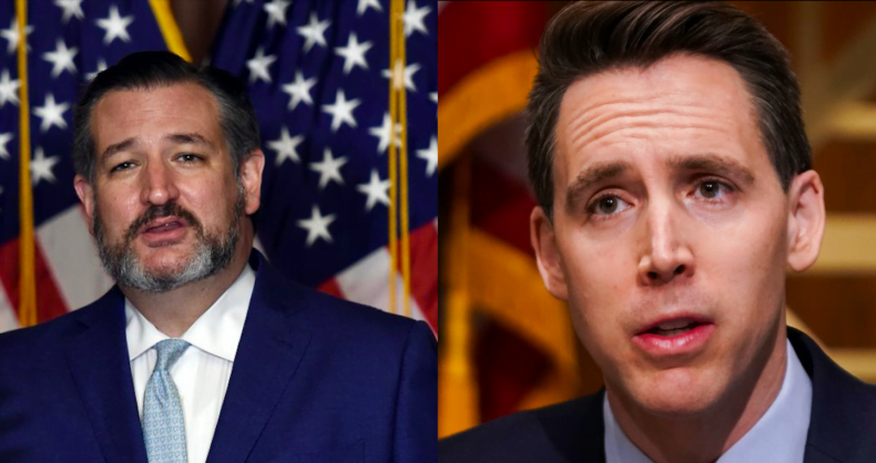 Call for Disbarment Proceedings Against Cruz and Hawley