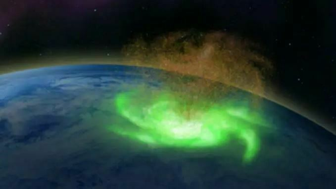 Scientists Discover First 'Space Hurricane' Over North Pole