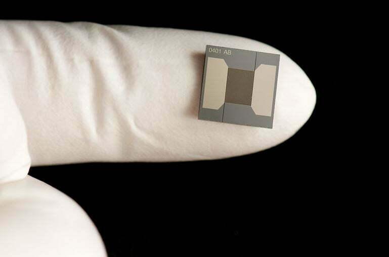 Microchip On Finger