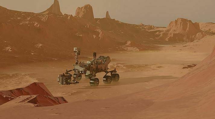 NASA Creates Breathable Air on Mars