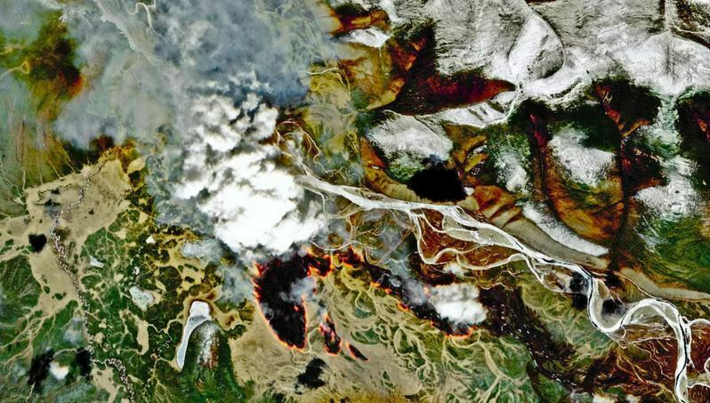 'Zombie Wildfires' Raging Beneath the Snow in Russia