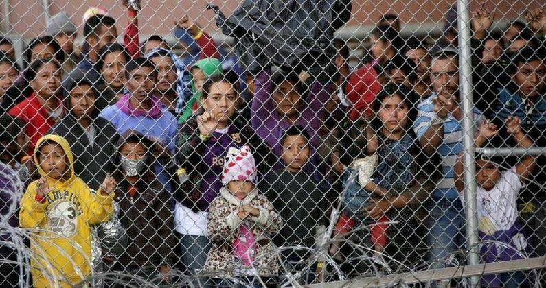 Immigrants At Southern Border