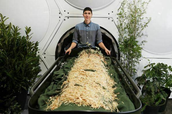 Human Composting Now an End-of-Life Option