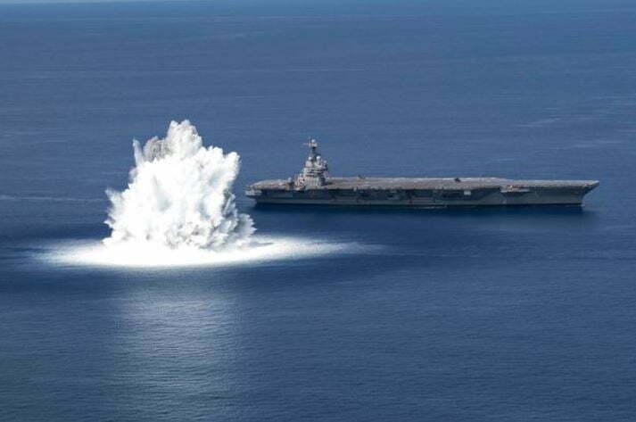 Navy Detonates 40,000lb Bomb, Triggering Earthquake 100 Miles Away