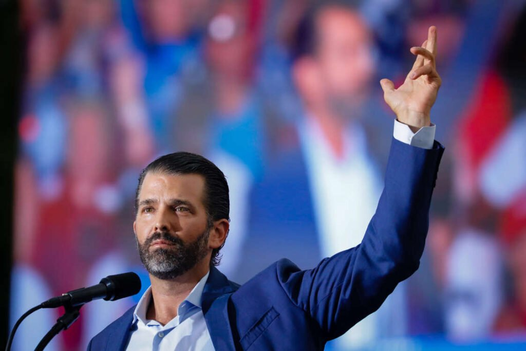 Donald Trump Jr. Vastly More Popular With Republicans Than Mitch McConnell: Poll