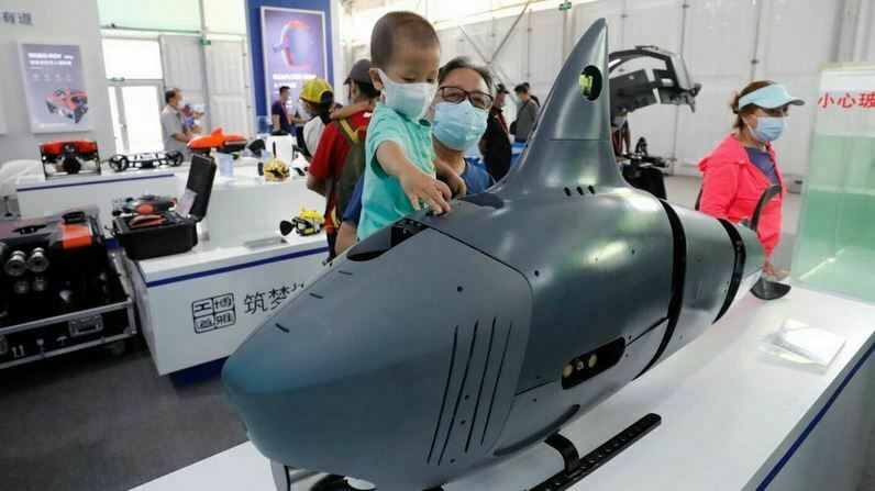 China Unveils AI Shark Drone to Fire at Enemy Ships
