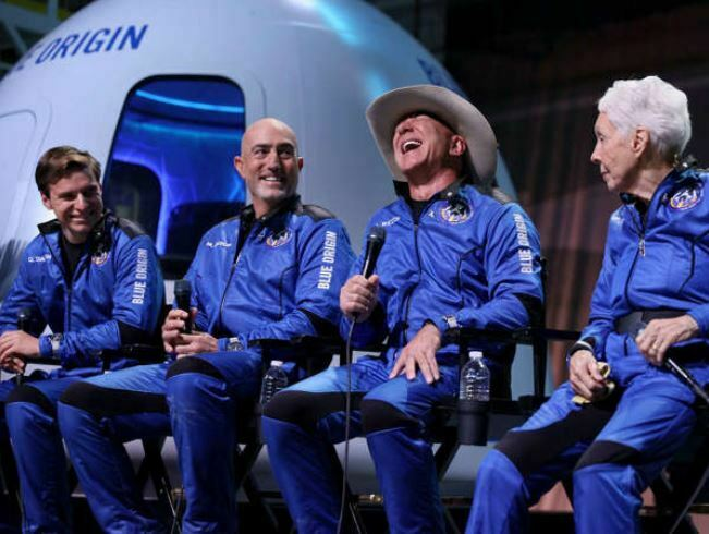 How Much Did Jeff Bezos' Space Trip Heat the Earth?