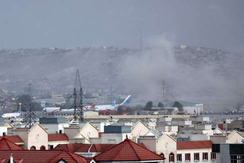 Kabul Airport Explosions Hit Crowds Amid Evacuations