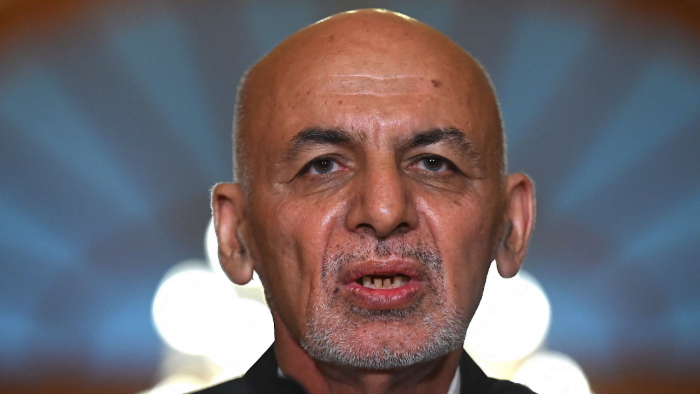 Russia Says Afghan President Fled with Helicopter Full of Cash