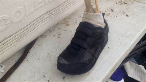 Severed Feet With Trainers Keep Washing Up On US And Canada Shore