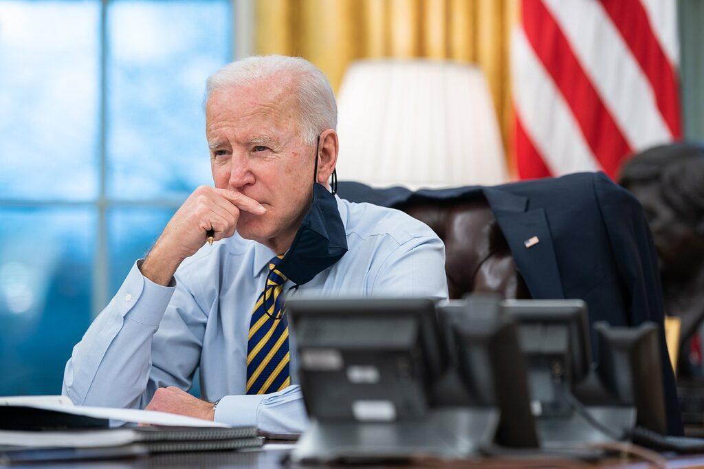More American's don't like President Biden than do