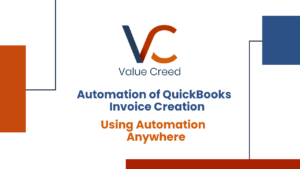 Automation of QuickBooks Invoice Creation Using Automation Anywhere