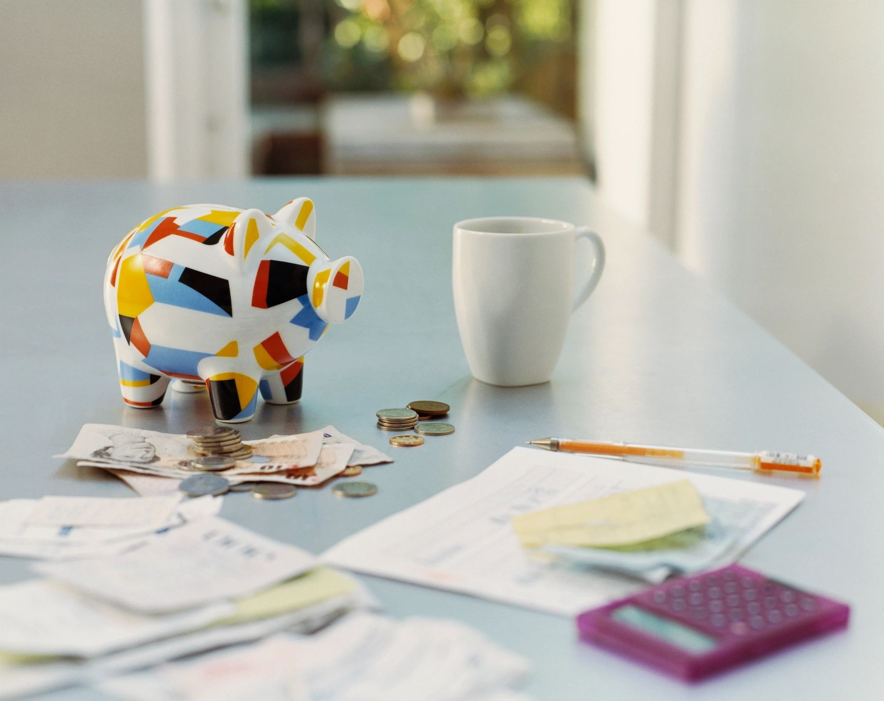 piggy bank on table saving with wilmington nc investments