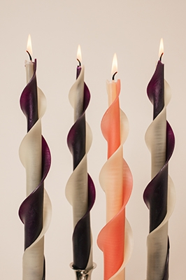 adventtwised Beeswax Candles