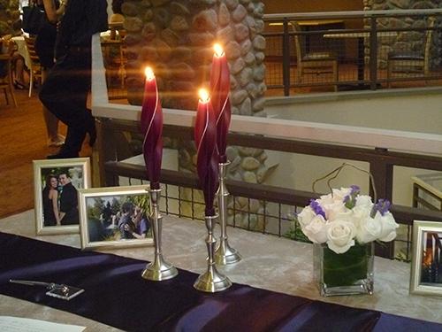 wedding 2 -twised Beeswax Candles