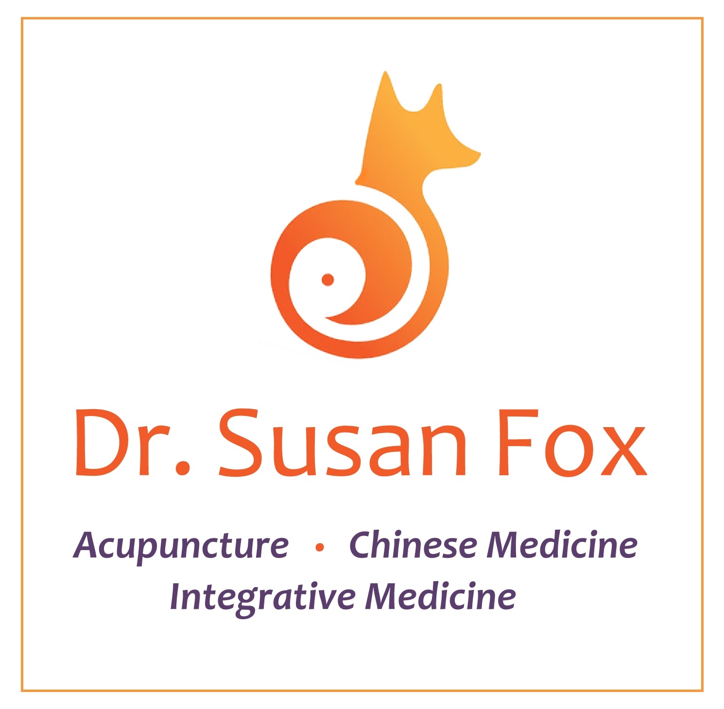 dr susan fox logo square with border