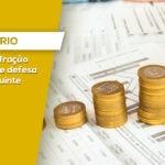 AUTO DE INFRAÇÃO TRIBUTÁRIO E DEFESA DO CONTRIBUINTE