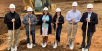 the prime west knoxville team breaks ground on the new senior living community
