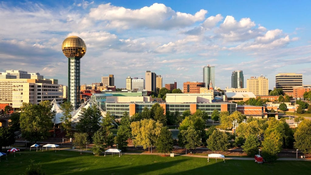 knoxville tennessee city skyline