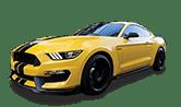 Car Detailing Yellow Mustang
