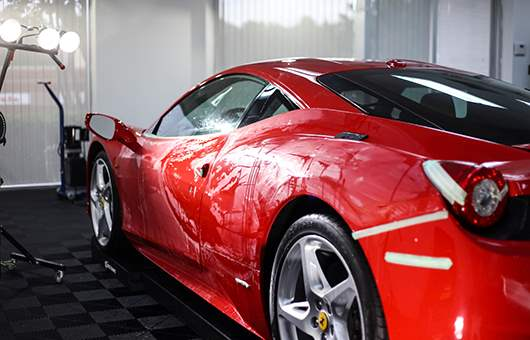 Full Front Paint Protection Film