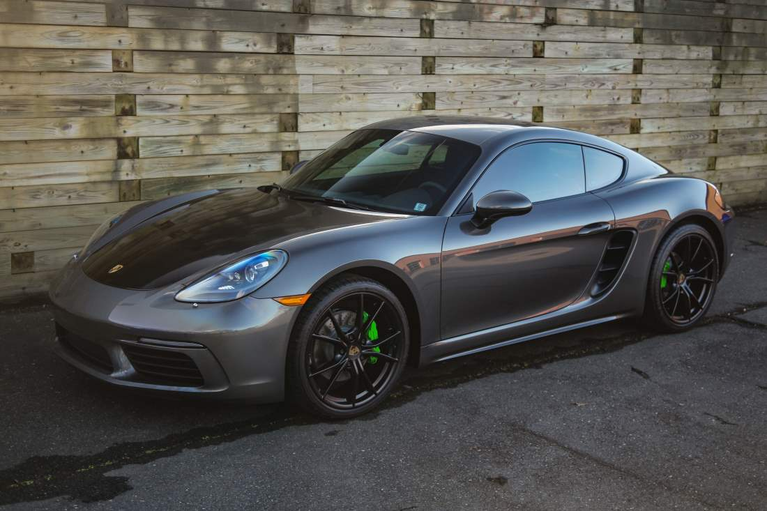 Porsche Cayman Receives A Variety of Paint Protection Services