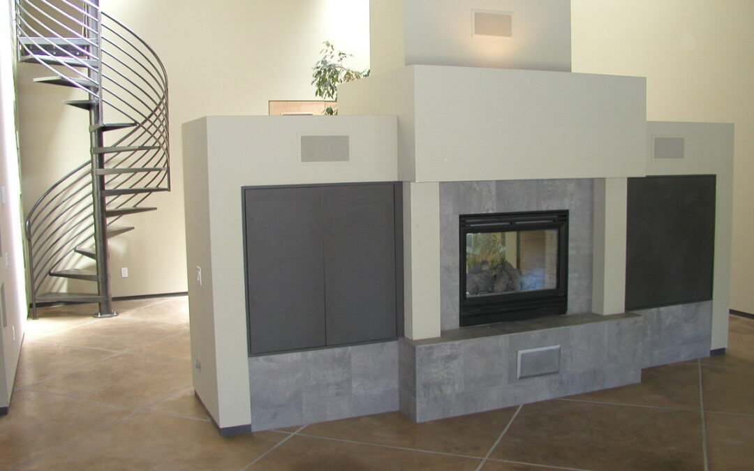 Backlund Place – Living Area Build