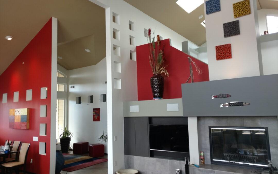 Mt Baldy Ln – Living Area Build