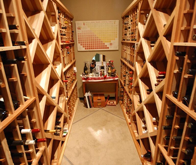 Mt Baldy Ln – Wine Cellar Build